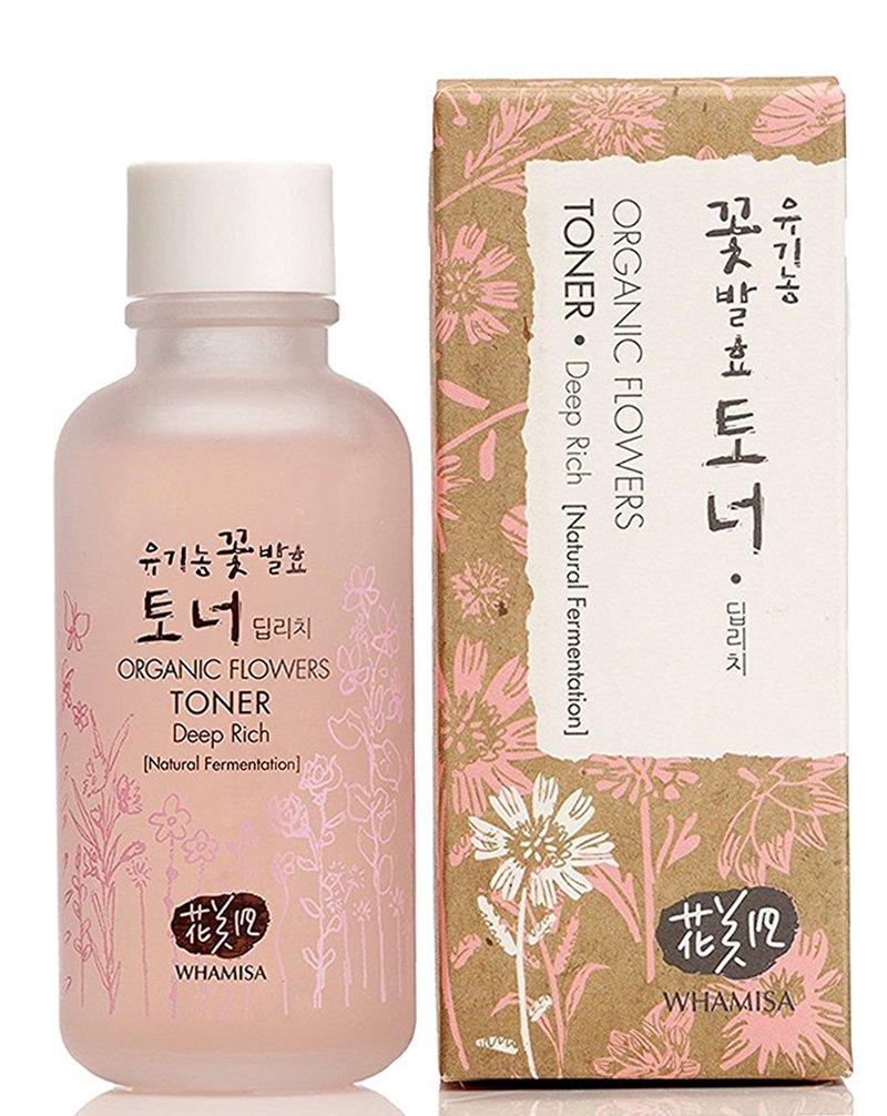 Whamisa Organic Flowers Deep Rich Essence Toner 4 Fluid Ounce ENS Korea Co. LTD.