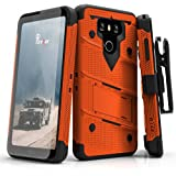 LG G6 Case, Zizo [Bolt Series] with FREE [LG G6 Screen Protector] Kickstand [12 ft. Military Grade Drop Tested] Holster Belt Clip - LG G6