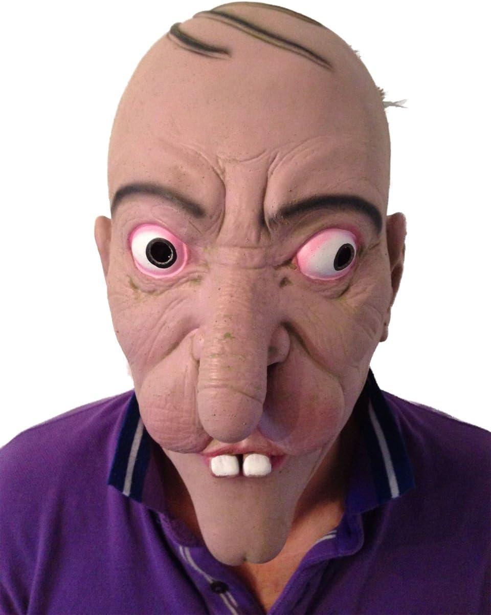 Gracioso WILLY Rostro 3/4 rostro Máscara De Látex Disfraz ...