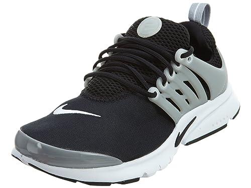 new products 7588e cf604 Nike Zapatillas de Deporte para Niños, Negro Black-White-Wolf Grey, 38 1 2  EU  Amazon.es  Zapatos y complementos