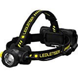 Ledlenser - H15R Work Rechargeable Headlamp, 2500 Lumens, Magnetic Charge System, Dust and Water Protection, Rubber…