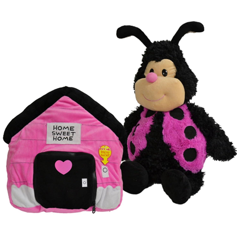 Happy Napper Animal Pillow For Children 36X12X38 cm - Ladybug 8854