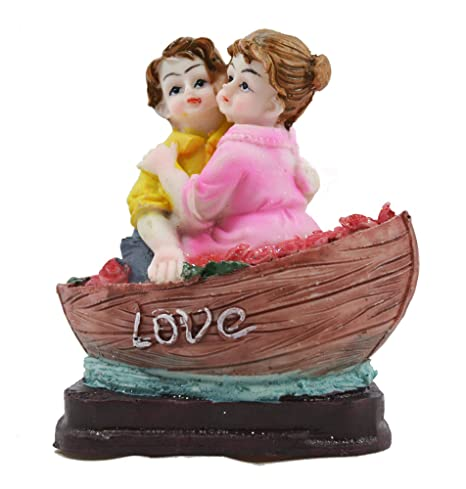 Buy Crafts For You Baby Couple In Boat Statue Figurine Showpiece Anniversary Birthday Gifts Girlfriend Boyfriend Husband Online At Low Prices India