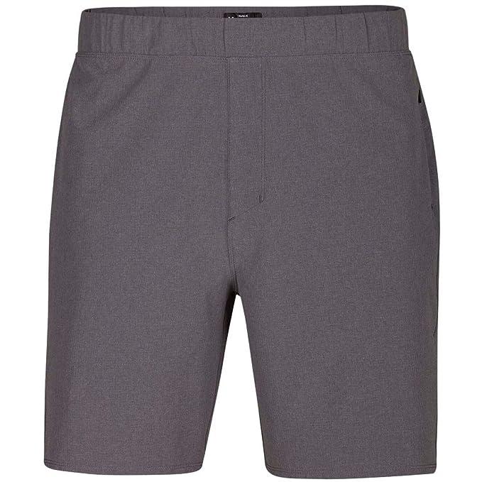 0572c0eb4e891 Hurley 895072 Alpha Trainer Plus - Pantalón Corto para Hombre ...