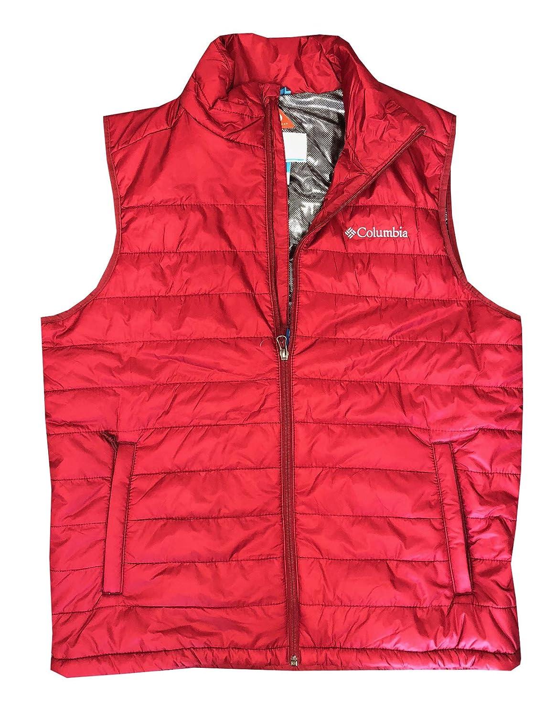 Columbia Men's Crested Butte II Omni Heat Puffer Vest 2017 XM0041