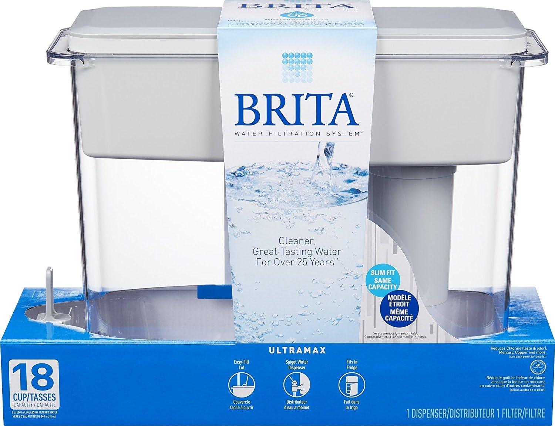 Brita 35034 Ultramax Water Dispenser, 18-Cup Capacity