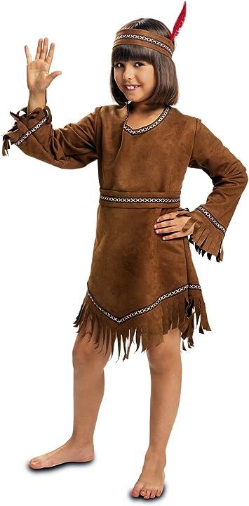 My Other Me - Disfraz de India, talla 5-6 años (Viving Costumes ...