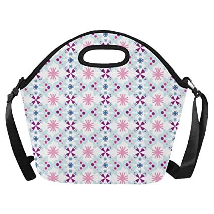 74221507b4cc Amazon.com: InterestPrint Large Insulated Lunch Tote Bag Christmas ...