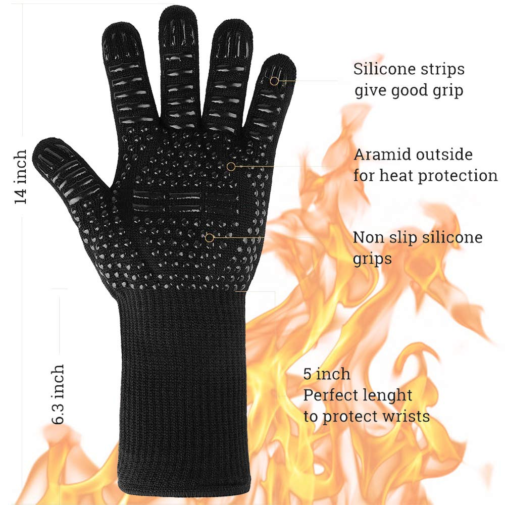 IPOTCH 4 Pieces Strong Stainless Steel Mitten Clips Elastic Gloves Caps Clips for Baby Kids
