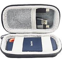 Duro Estuche Viajes Funda Bolso para SanDisk Extreme - Portable SSD 500 GB 250 GB 2 TB 1 TB by SANVSEN