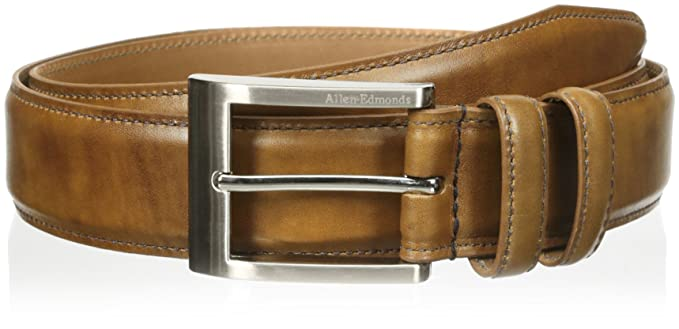 Allen edmonds men s basic wide dress belt at amazon men s clothing