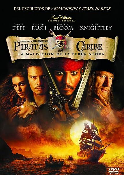 Piratas del Caribe: La maldición de la Perla Negra DVD: Amazon.es ...
