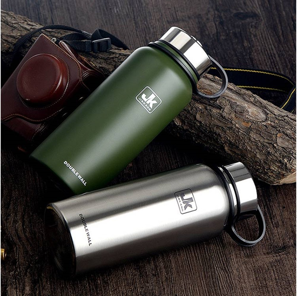 Amazon.com: jiakang Botella de agua acero inoxidable ...
