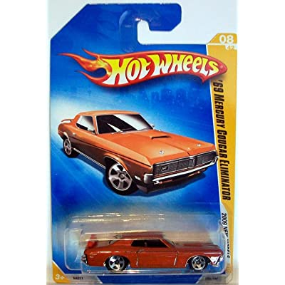 Hot Wheels 2009 New Models Tan 69 Mercury Cougar Eliminator: Toys & Games