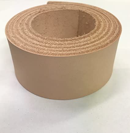 ac5cc5e0bbbcb Vegetable Tanned Leather Tooling Strips from LEATHER ALTERNATIVE Veg Tan  Cowhide Leather for Making Belts Easy