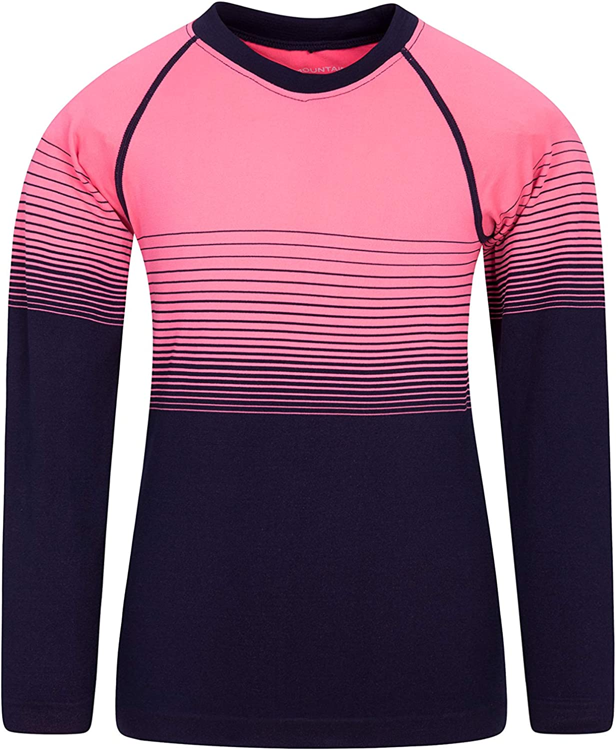 Long Sleeve Mountain Warehouse Seamless Youth Round Neck Spring Top