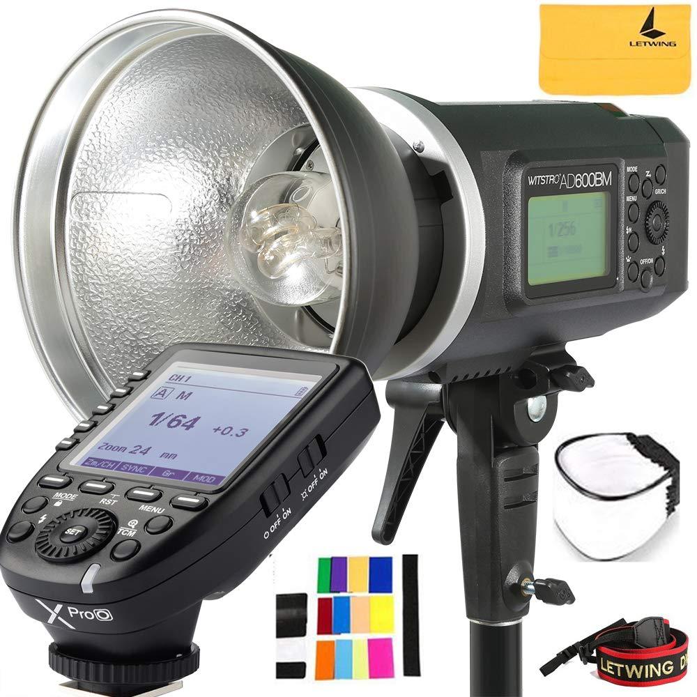 Godox AD600BM 600Ws GN87 HSS AD Sync 1/8000s 2.4G Wireless Flash Light Speedlite,Godox XPro-O 2.4G TTL Wireless Flash Trigger Compatible for Olympus Camera by Godox (Image #1)