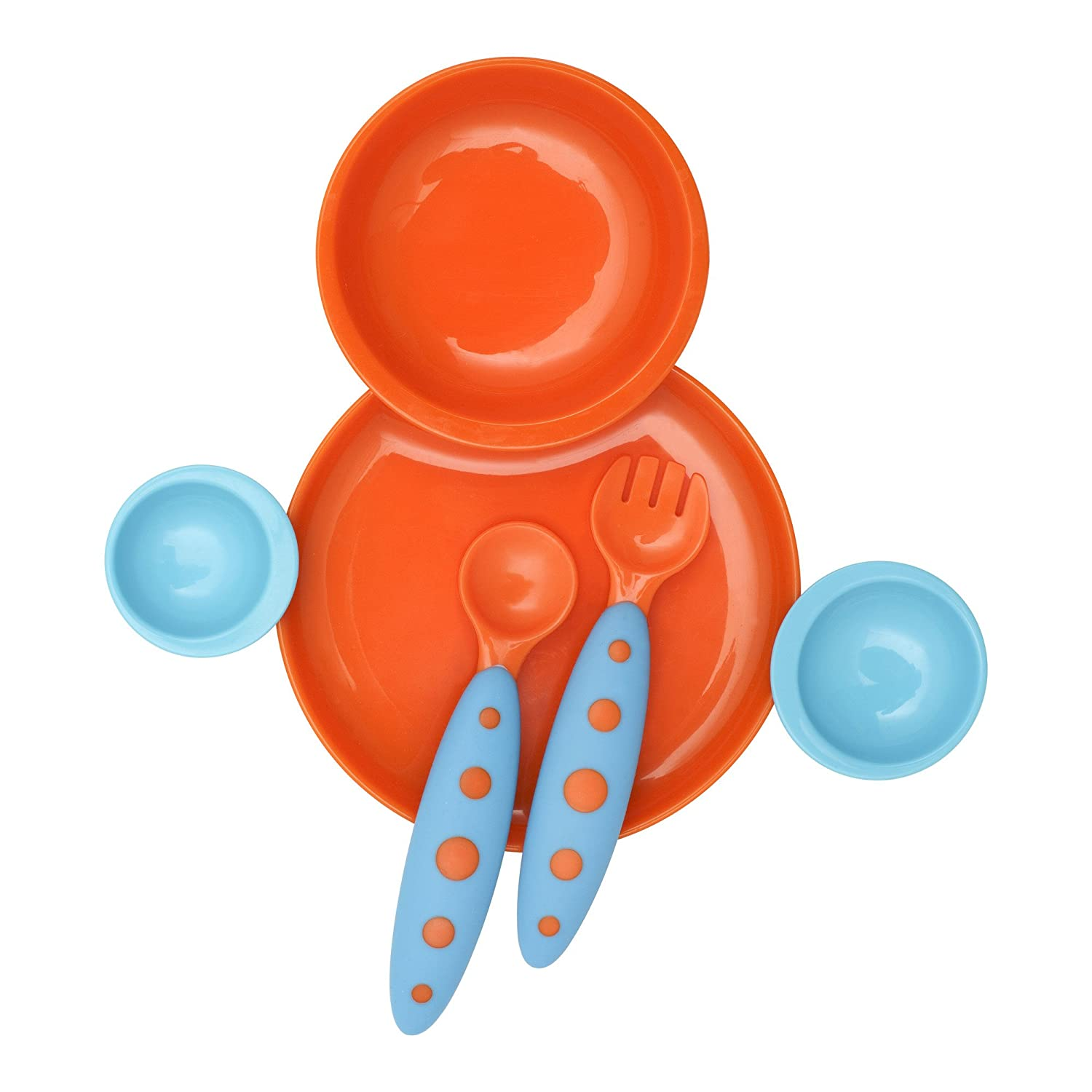 Groovy Interlocking Plate & Bowl with Modware TOMY 247