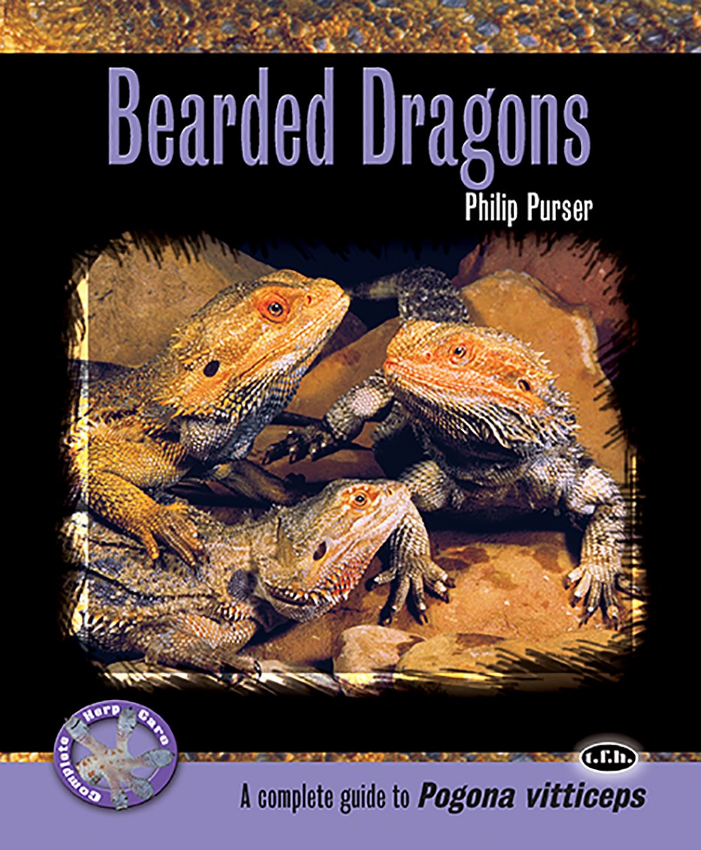 Bearded Dragons (Complete Herp Care): Phillip Purser: 9780793828876
