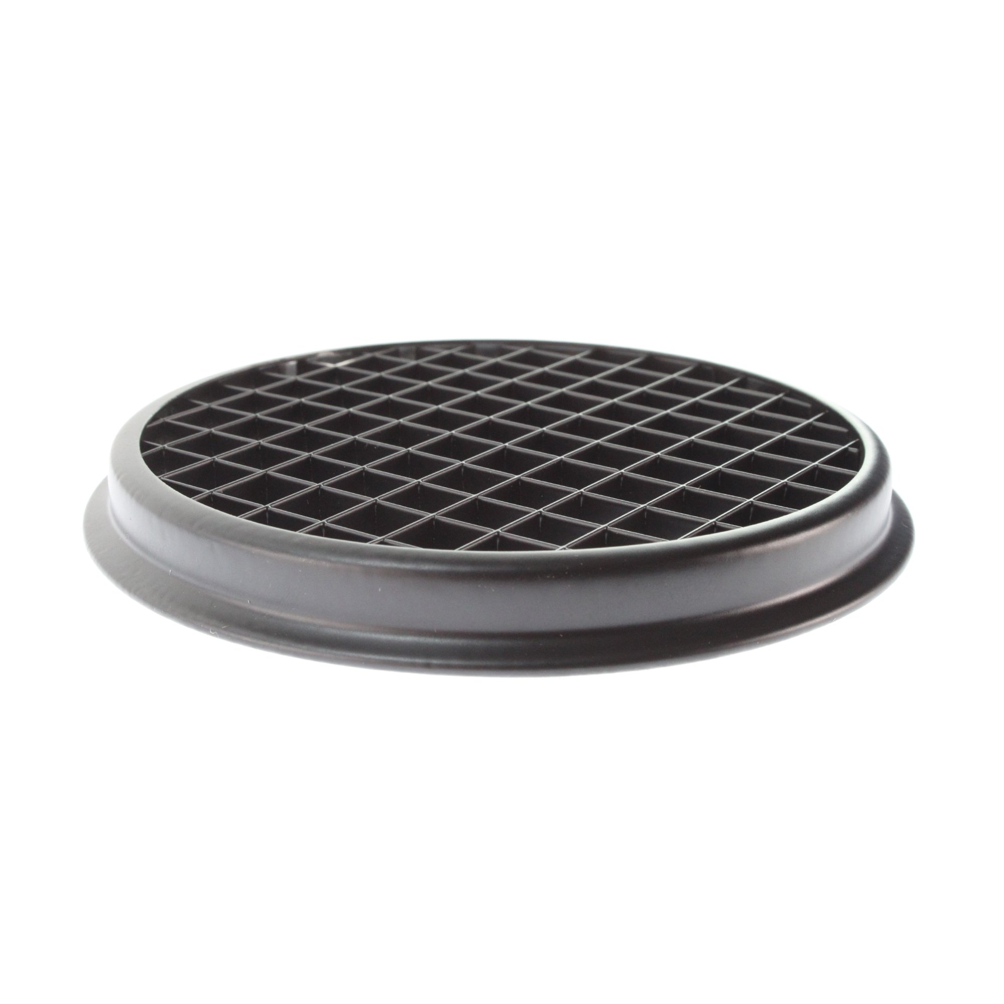 Lightolier 7597 Lytespan Accent & Display 4 3/4'' Diameter Square Cell Louver, Black