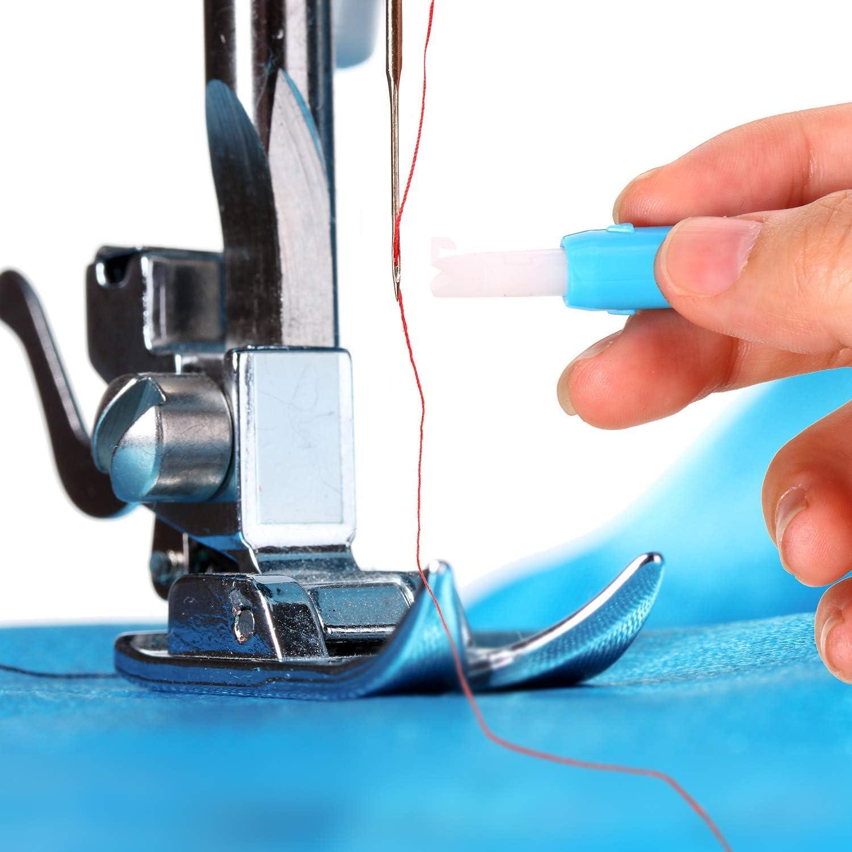 Vitihipsy 3 piezas de máquina de coser aguja enhebrador insertador ...