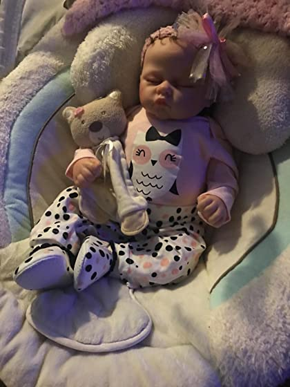 The Ashton - Drake Galleries Sophia Breathes, Coos and has a Heartbeat - So Truly Real Lifelike, Interactive & Realistic Weighted Newborn Baby Doll 19-inches Perfect!!!