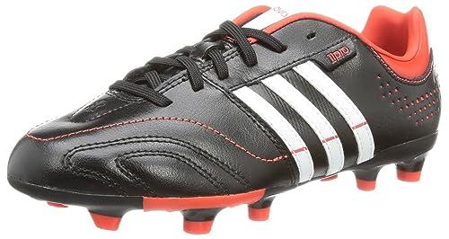 adidas 11Nova Trx Fg J, Chaussures de football garçon Noir Noir