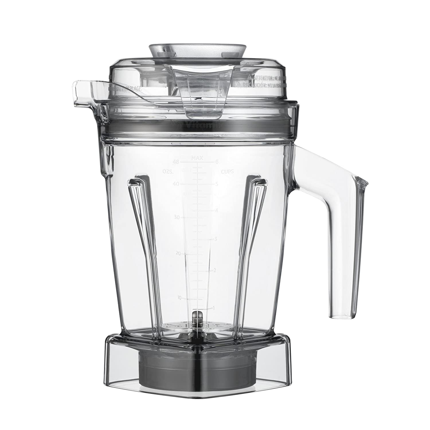 Vitamix 065421 Disc Container 48 oz Clear