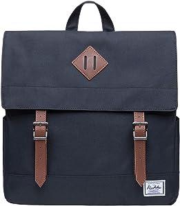 KAUKKO School Backpack - Bookbag, Spacious and Classy fits 14