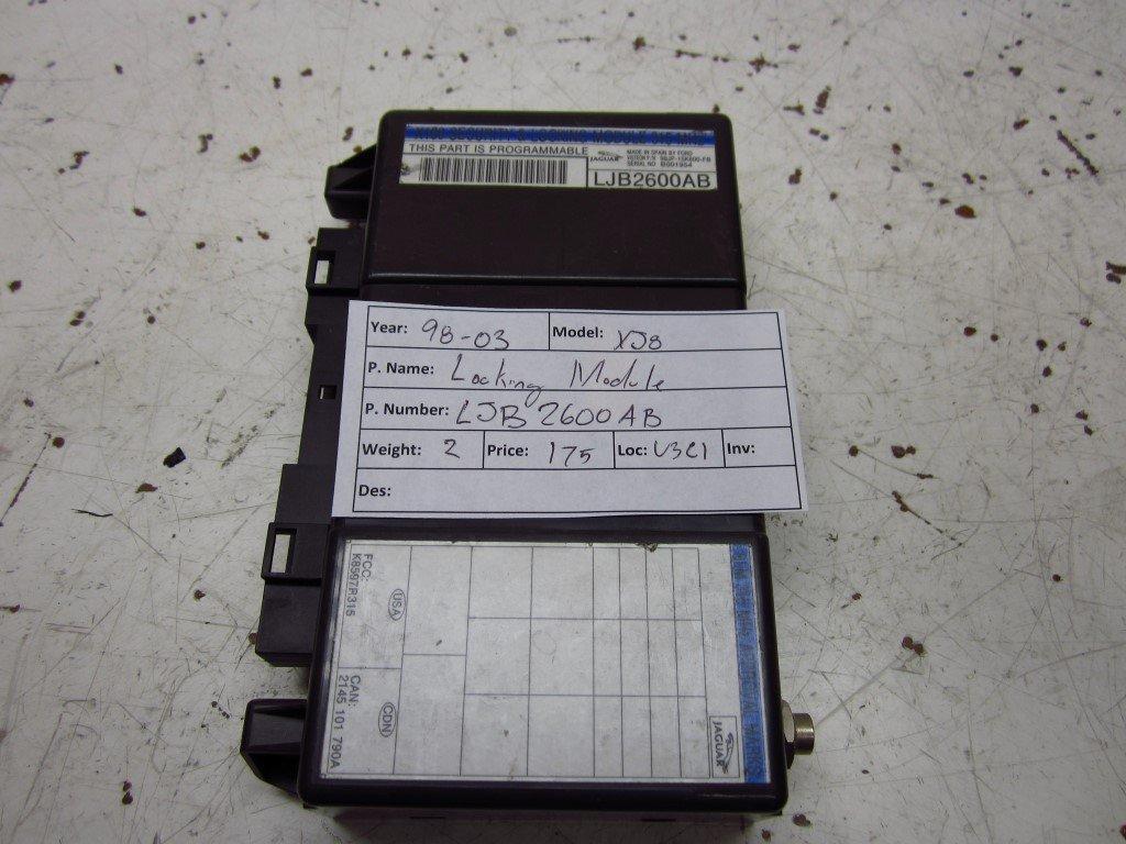 OEM 1998 1999 2000 Jaguar XJ8 CBX Theft Computer Module under ...