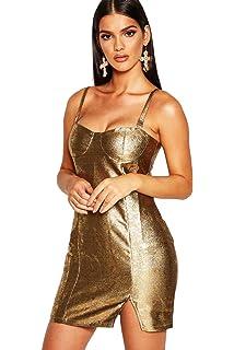 211e02c608e84 YPO Boutique Iridescent Disc Sequin Dress: Amazon.co.uk: Clothing