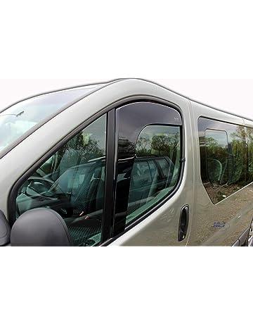 Deflecteurs dair d/éflecteurs de Vent Compatible avec Renault Megane III 2008-2016 2 pi/èces J/&J AUTOMOTIVE