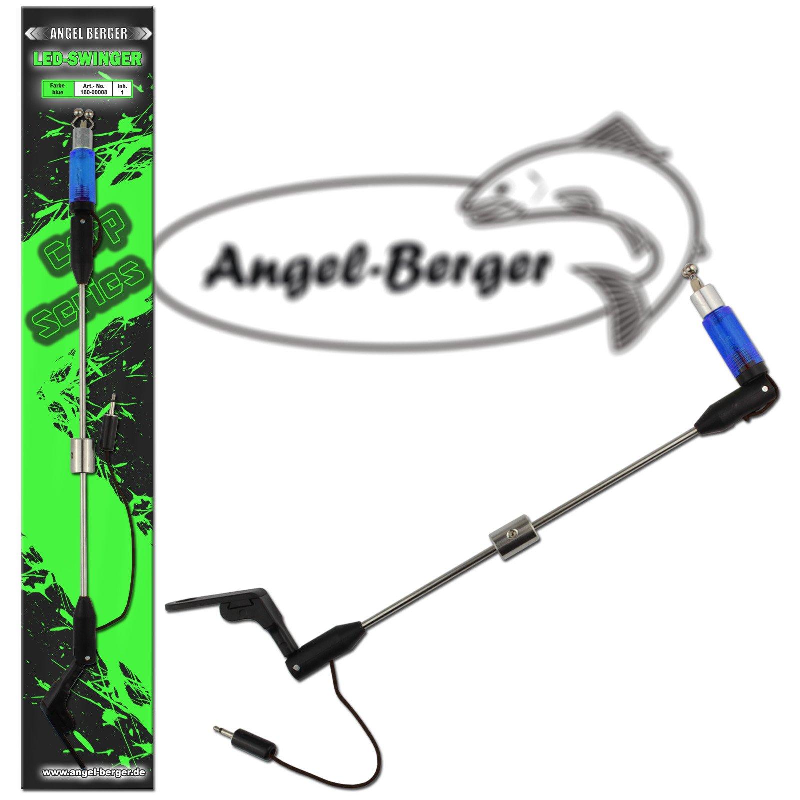 Angel Berger Swing Indicator Bissanzeiger blau