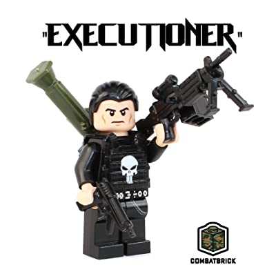 CombatBrick Premium Limited Edition Minifigure - The Punisher: Toys & Games [5Bkhe0506289]