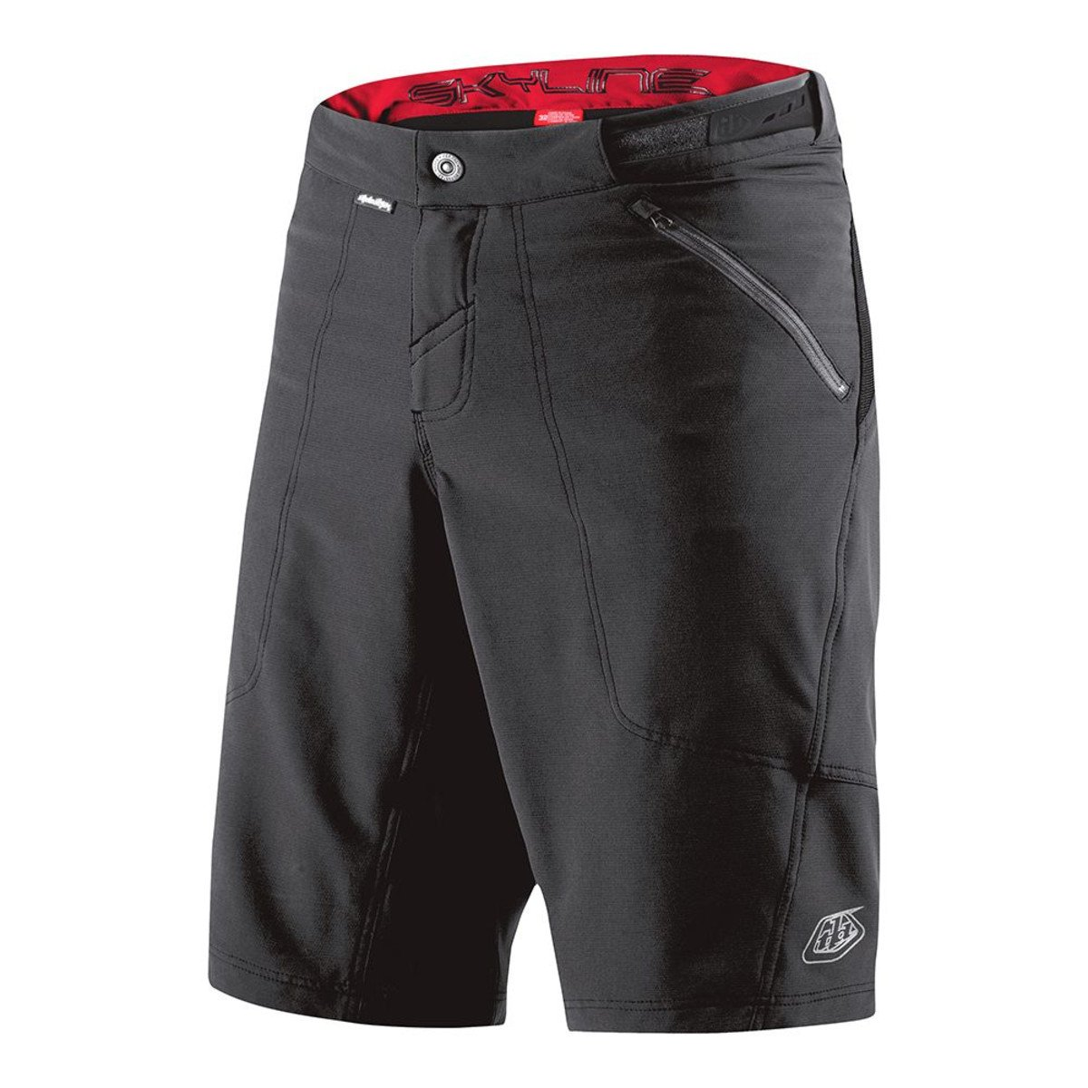 Troy Lee Designs Skyline Shell Men's BMX Bicycle Shorts - Black