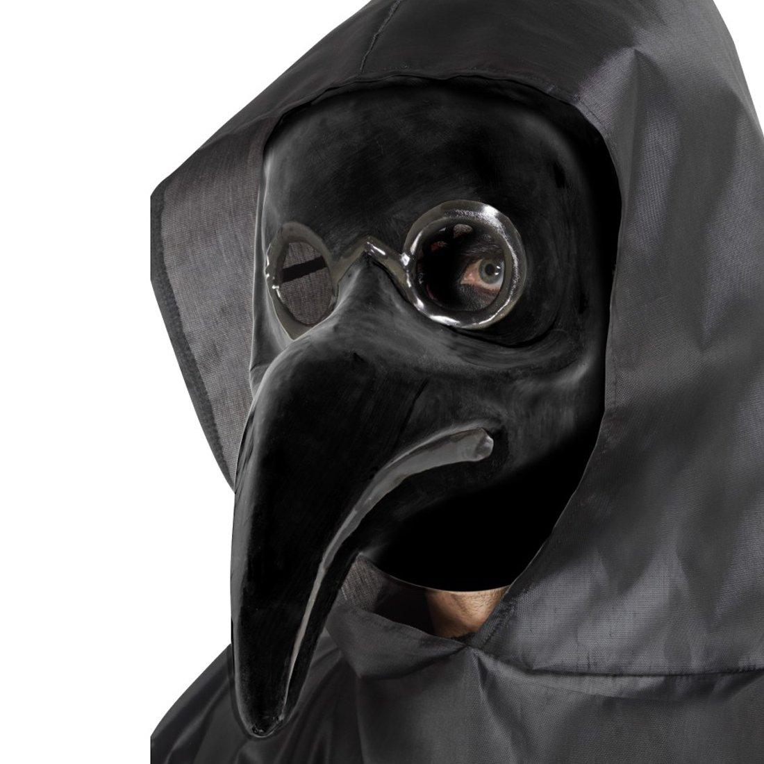 NET TOYS Careta Médico de la Peste Negra | Máscara Doctor ...