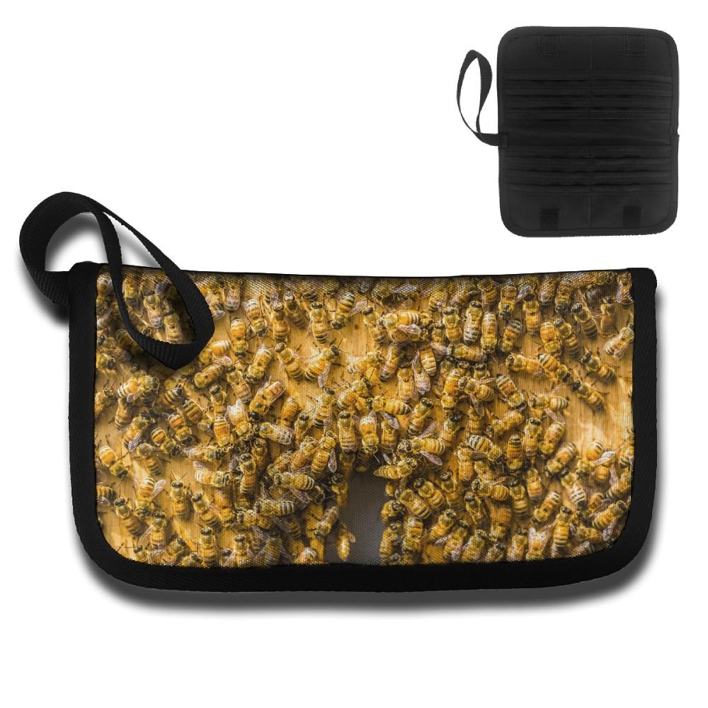 Bees Insect Animals Multi-function Travel Document Receipt And Receipt Bag Fashion Printing Card Package