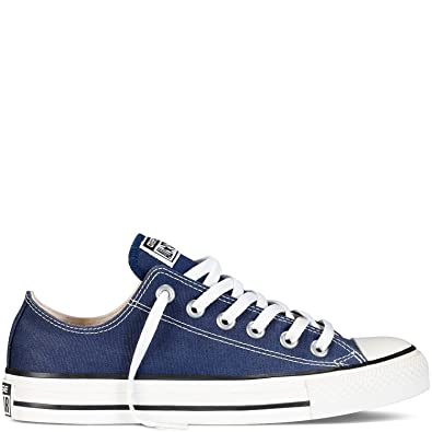 a2dae12e8a20 Image Unavailable. Image not available for. Color  Converse Unisex Shoes  All Star Low Top Navy Blue ...
