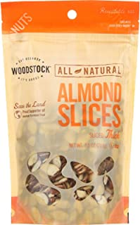 product image for Woodstock Almonds, Natural Thick Slice, 7.5-Ounce Bags (Pack of 4)