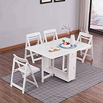 Amazon.com: FTFTFTF - Mesa de comedor y silla rectangular ...