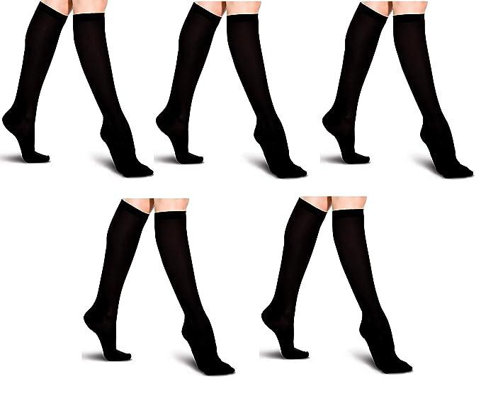 Calcetines Miracle as seen on TV Negro Unisex Calcetines de compresión de alivio de dolor