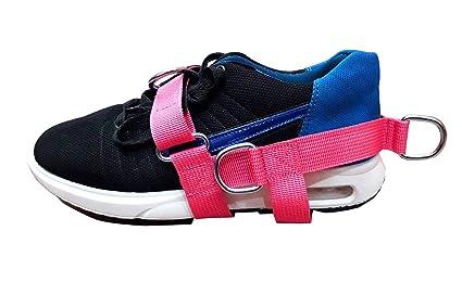 Amazon.com: Correa para el pie, color rosa, para mujer, 5 ...