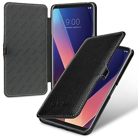 release date: 4f603 c8c2f keledes LG V30 Case, Slim Genuine Real Leather Wallet: Amazon.co.uk ...