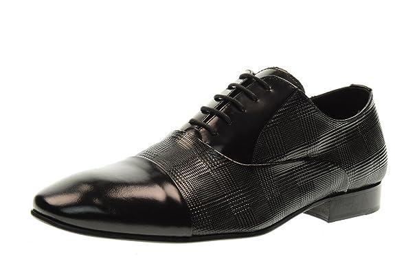 Stringed Man Shoes 16500 Black