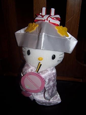 Amazon.com: Hello Kitty japonés boda Plush por Sanrio ...
