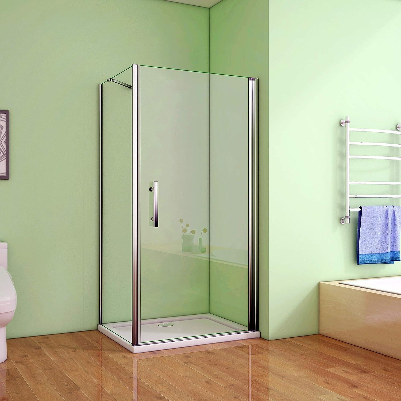 Cabina de ducha mampara de ducha de puerta de cristal para ducha ...