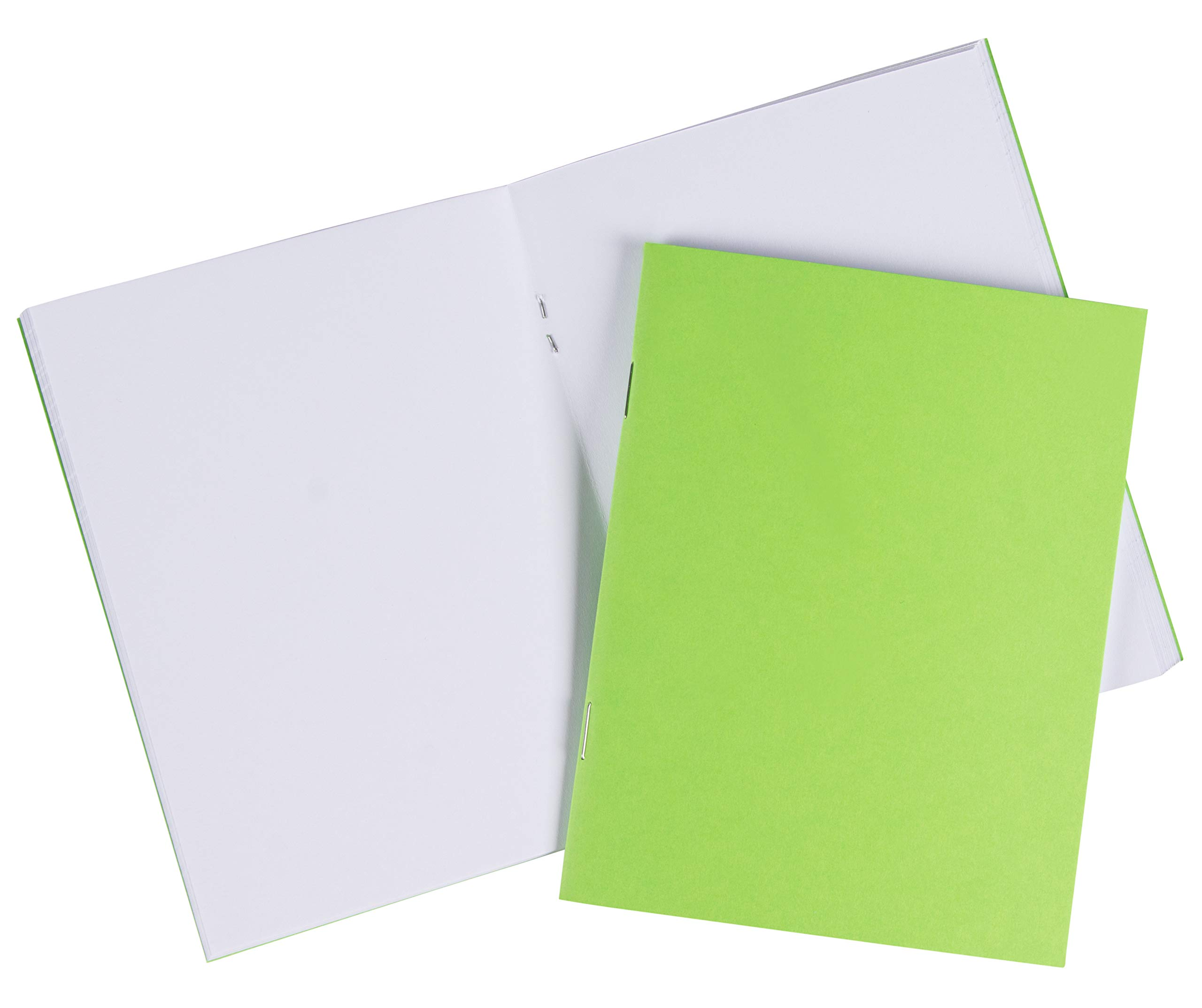 Blank Book - 48-Pack Colorful Notebooks, Unlined Plain Travel Journals for Students, Kids Diaries, Creative Writing Projects, 6 Assorted Colors, 4.25 x 5.5 Inches, 24 Sheets by Paper Junkie (Image #4)