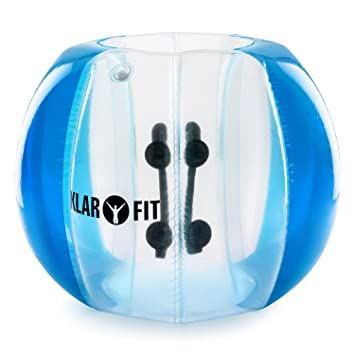KLAR FIT Bubball KR Pelota de Burbuja, Bola Inflable, Transparente