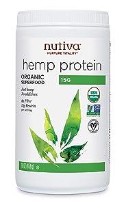 Nutiva Organic Cold-Processed Hemp Protein