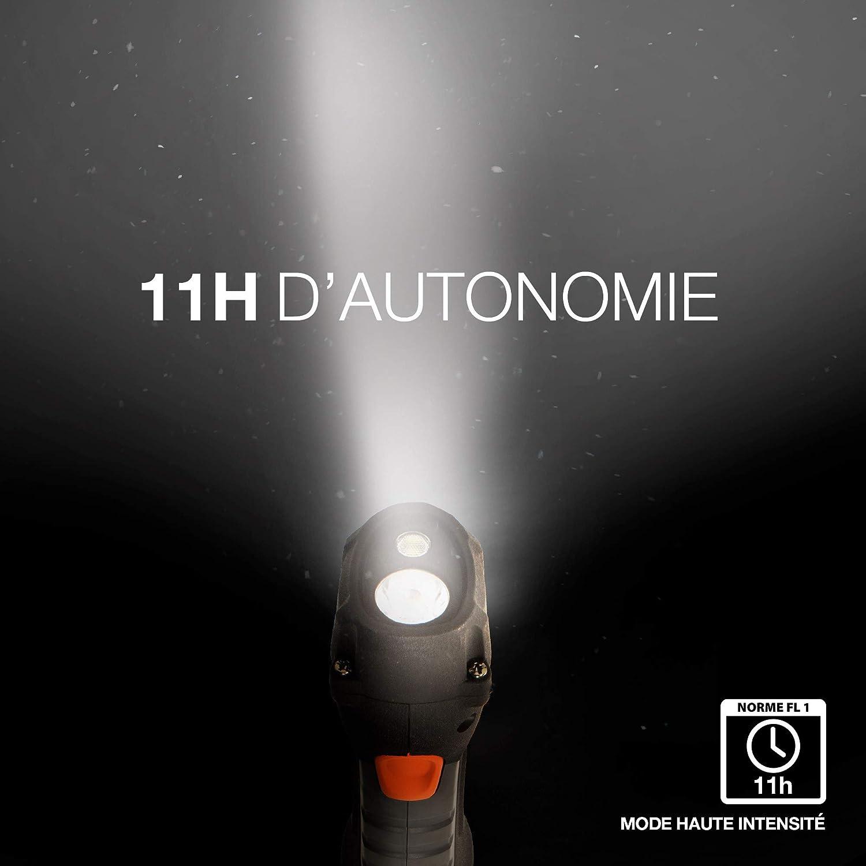 Lampe torche /à LED Energizer Hard Case Professional Project Plus 4AA